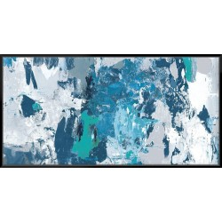 Tainted Blue - Canvas