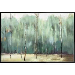 Teal Forest - Canvas