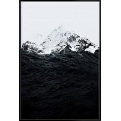Those Waves Were Like Mountains - Canvas