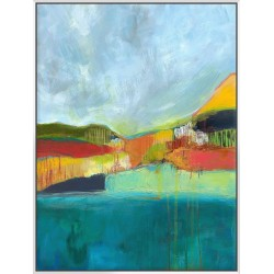 View Across The Bay - Canvas