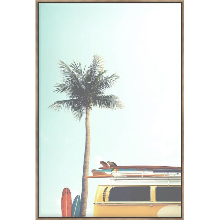 Vintage Surf - Canvas
