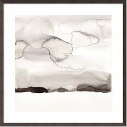 Watercolor Abstract Horizon I