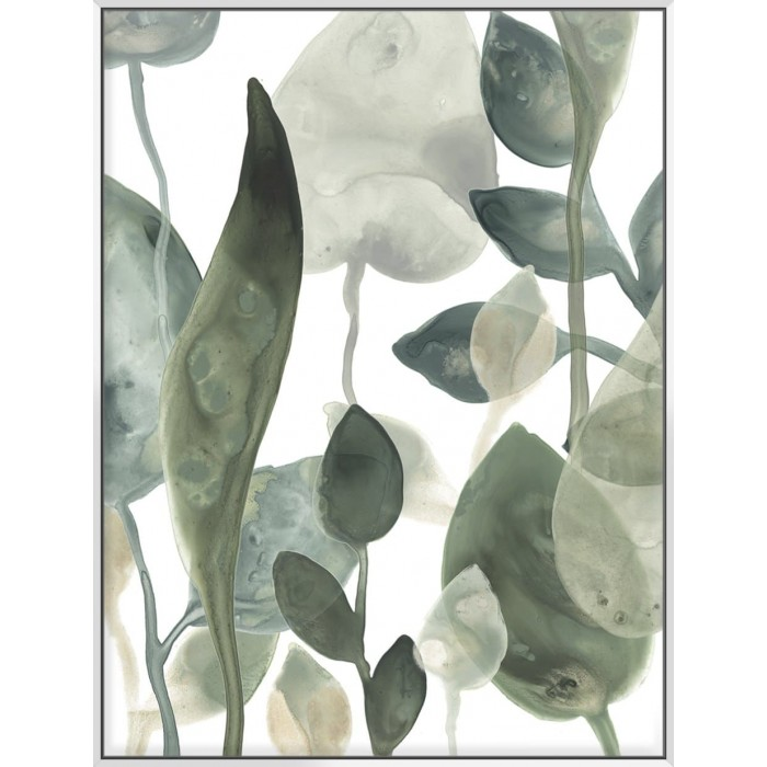 Water Leaves III - Canvas