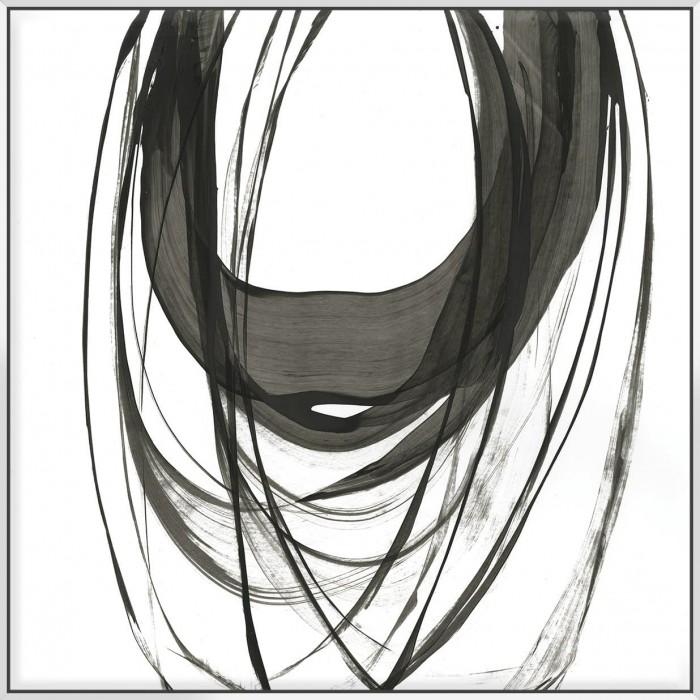 Black Streaks II - Canvas