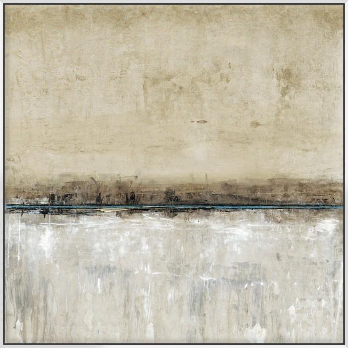 Blue Line II - Canvas