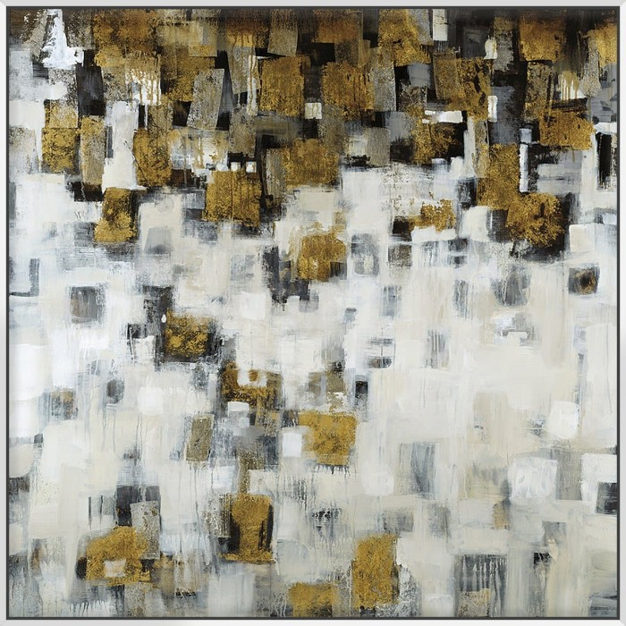 City Nights Gold - Canvas