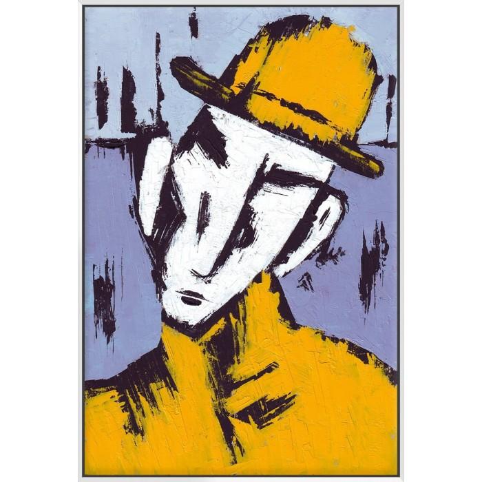 Cubist Face - Canvas