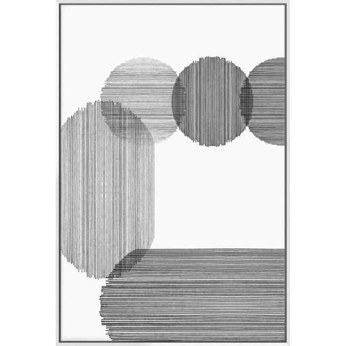 Gray On Gray II - Canvas