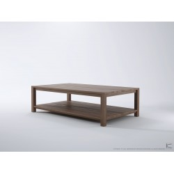 SOLID COFFEE TABLE - FSC RECYCLED TEAK