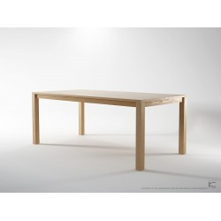 SOLID DINING TABLE - EUROPEAN OAK 2000mm