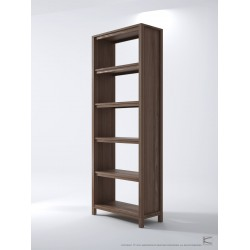SOLID BOOKSHELF 211CM - FSC RECYCLED TEAK