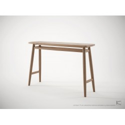 TWIST CONSOLE TABLE 120CM - FSC RECYCLED TEAK
