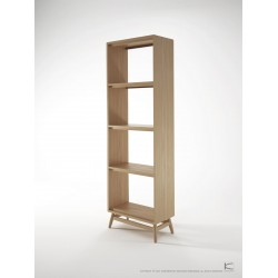 KARPENTER TWIST BOOKCASE - EUROPEAN OAK-SLH Furniture