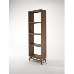 KARPENTER TWIST BOOKCASE - FSC RECYCLED TEAK-SLH Furniture