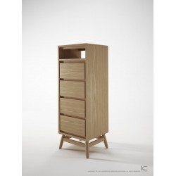 TWIST TALLBOY - EUROPEAN OAK