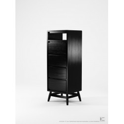 KARPENTER TWIST TALLBOY - BLACK OAK