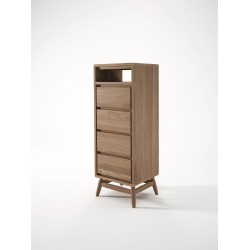 KARPENTER TWIST TALLBOY - FSC RECYCLED TEAK