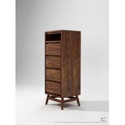 KARPENTER TWIST TALLBOY - AMERICAN WALNUT