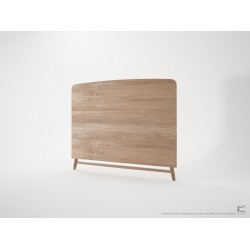 KARPENTER TWIST QUEEN SIZE HEADBOARD - FSC RECYCLED TEAK-SLH Furniture