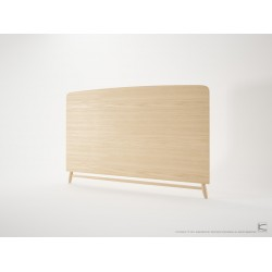 KARPENTER TWIST KING SIZE HEADBOARD - EUROPEAN OAK-SLH Furniture