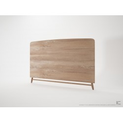 KARPENTER TWIST KING SIZE HEADBOARD - FSC RECYCLED TEAK-SLH Furniture