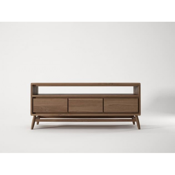 KARPENTER TWIST TV UNIT - FSC RECYCLED TEAK