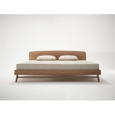 KARPENTER TWIST KING BED FRAME - FSC RECYCLED TEAK-SLH Furniture
