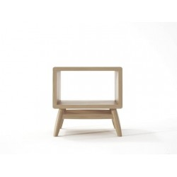 KARPENTER TWIST BEDSIDE - EUROPEAN OAK-SLH Furniture