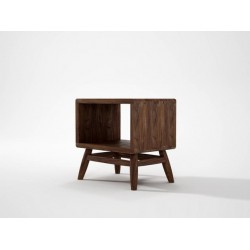 TWIST BEDSIDE - AMERICAN WALNUT-SLH Furniture