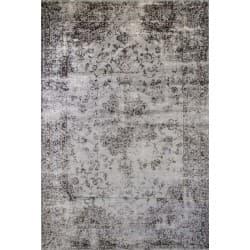 Viscose & Cotton Rug Heritage-Medal Grey-S