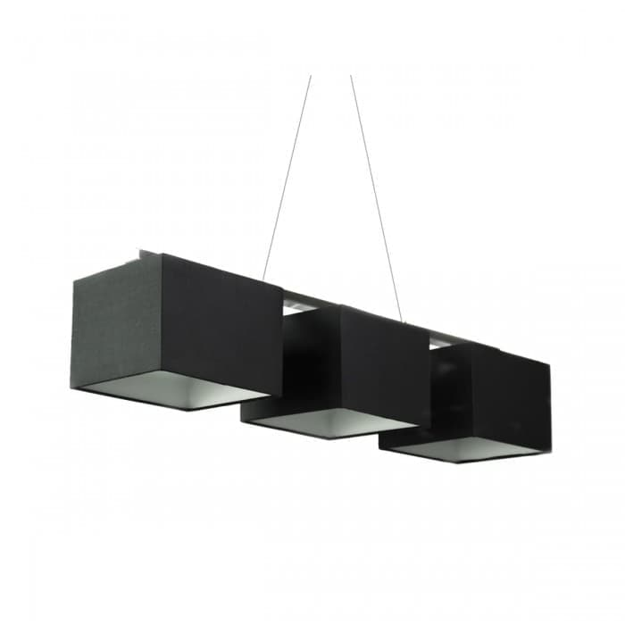 Pendant Lighting - Pendant Lamp Rectangular Metal Canopy