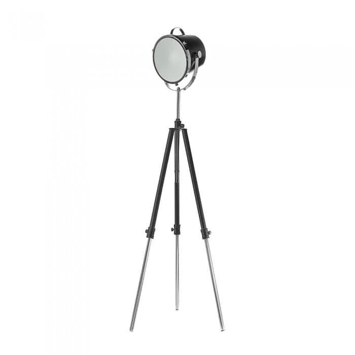 Lighting - Nautical Spotlight Tripod Floor Lamp - Black