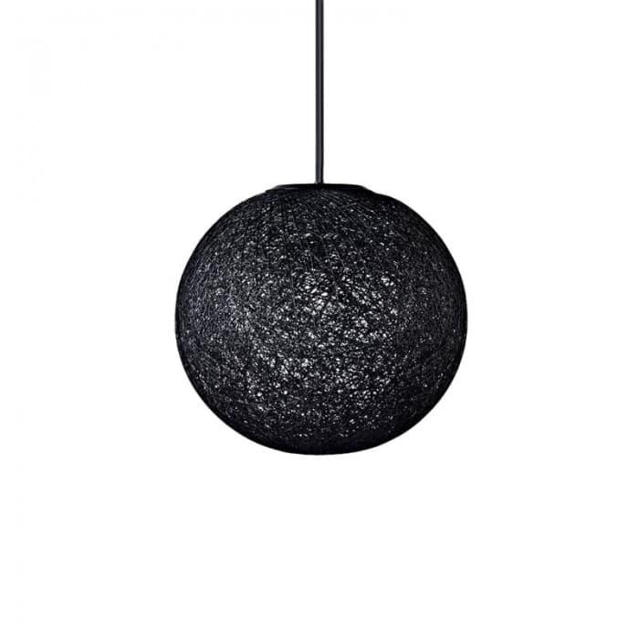 Pendant Lighting - Pendant Lamp Woven String Black or White