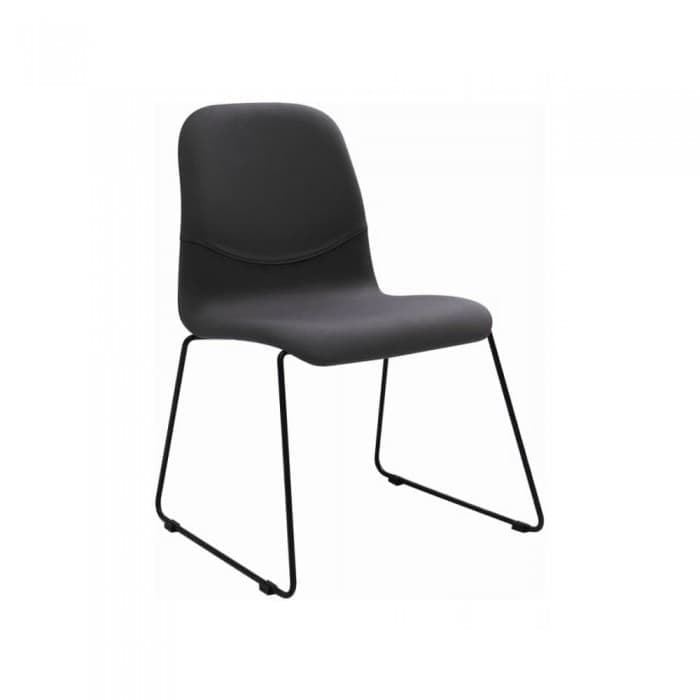 Furniture - Ava Dining Chair in Paloma (Metal Leg)