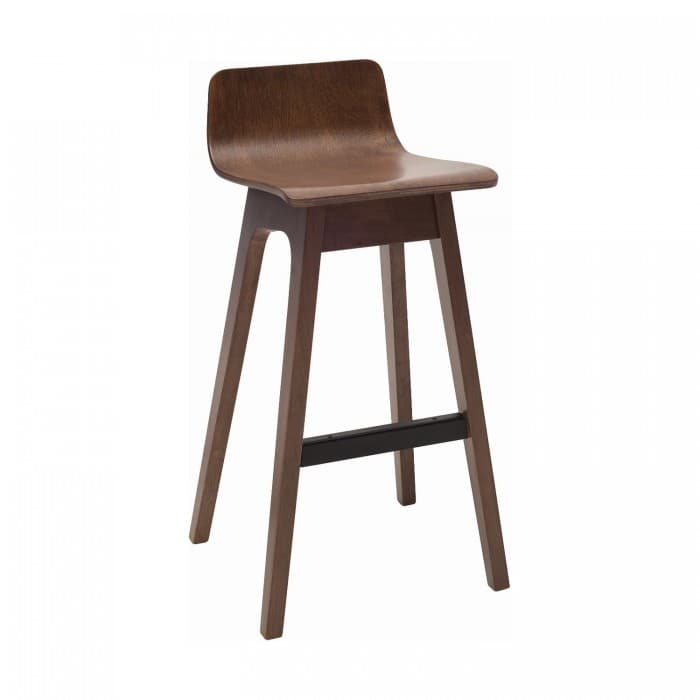Furniture - Ava Stool Walnut Veneer