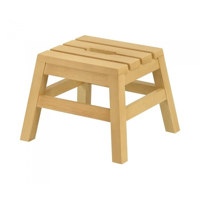 Furniture - Dextra Low Stool in Natural Finish