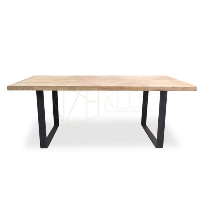 Dalton Reclaimed ELM Wood Table 1.98m - Rustic Natural