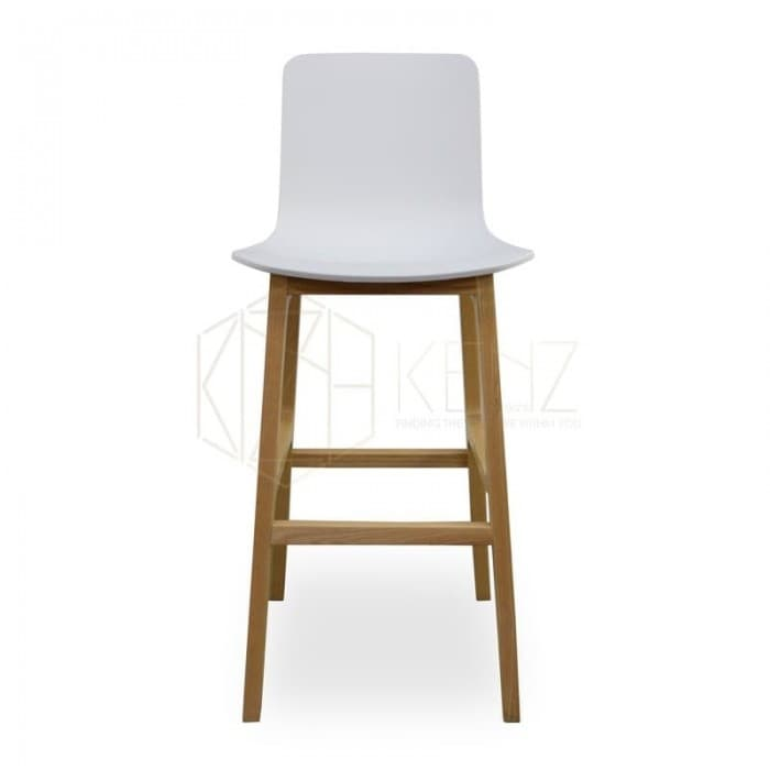Harris Bar Stool - White
