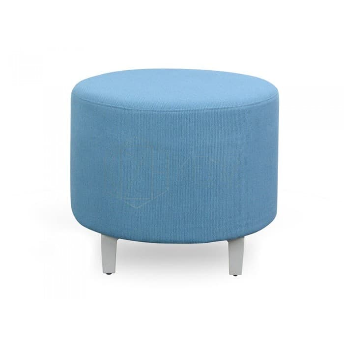 Hawk Round Stool – Blue