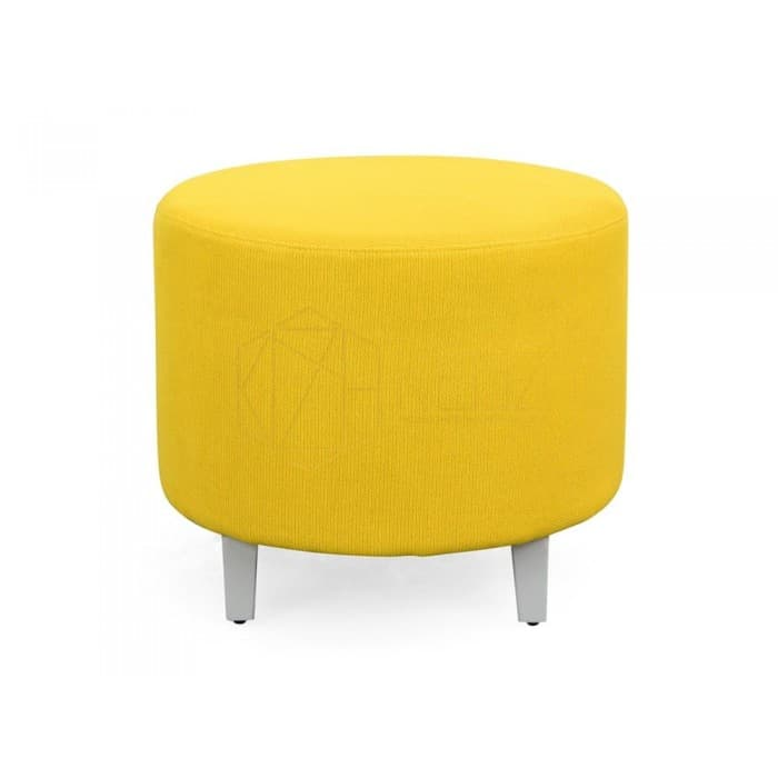 Hawk Round Stool – Yellow