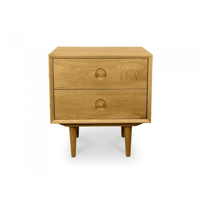 Noah Bedside Table - Natural Oak