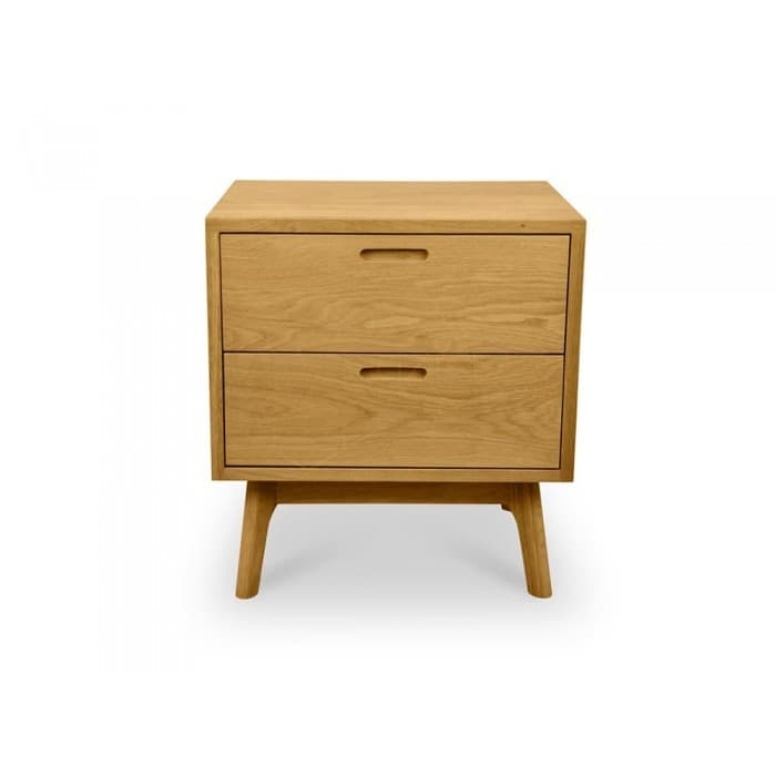 Furniture - Johan Bedside Table - Natural Oak