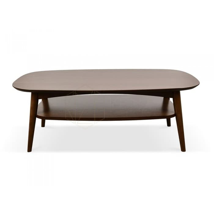Johansen Scandinavian Coffee Table - Walnut
