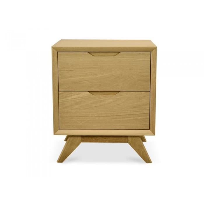 Furniture - Nora 2 Drawer Side Table