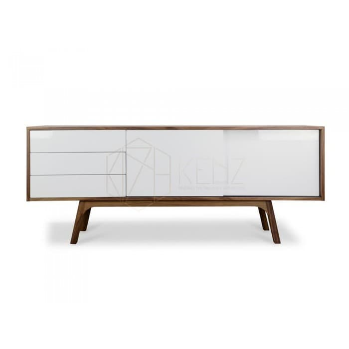 Hendrix Scandinavian Buffet - Walnut