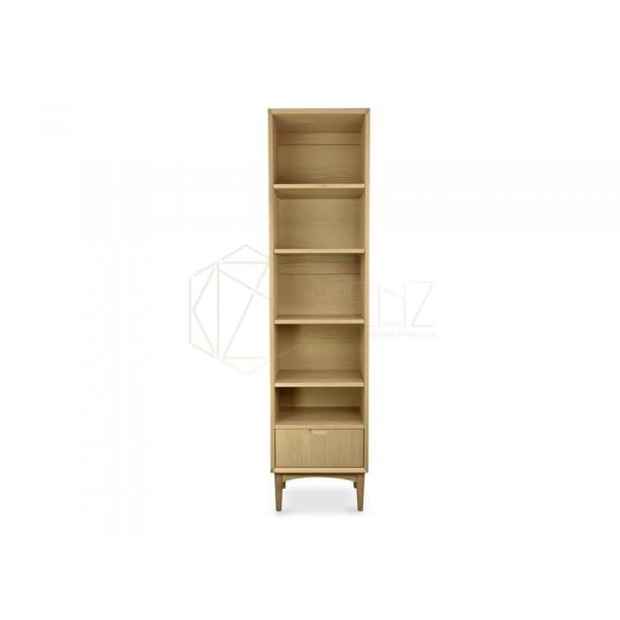 Johansen Narrow Bookcase - Natural