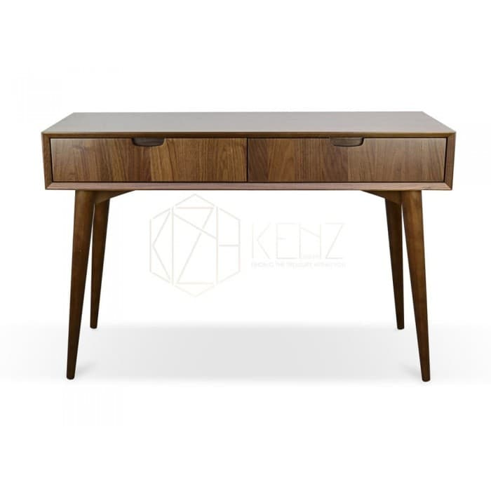 Johansen Console Table with Drawers - Walnut
