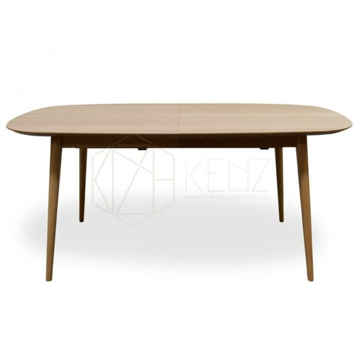 Johansen Scandinavian Extendable Dining Table - Natural