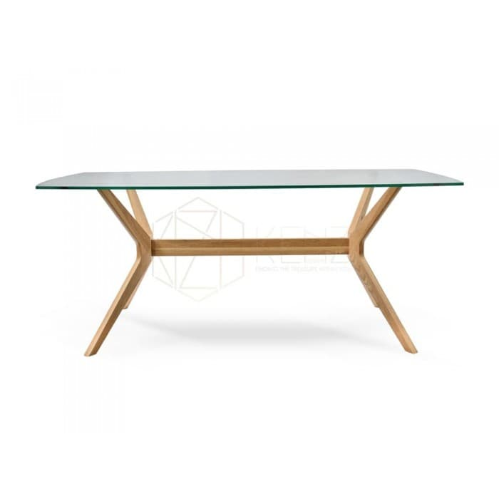 Nora 1.85m Dining Table - Natural