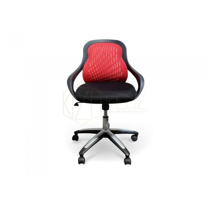 Evo Mesh Office Chair - Red